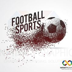 Football sports. #graphics #graphicdesigner #g #logo #logodesigner #logos #brand #logic #infographic #in #i #photoshooting #pho #photographer #fantasy #fashion #j #graphicdesign #illustrator #w #in #indesign #shape #drawing #art #abstractart
