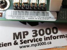 Carte  E/S 41Y3152 X3850 29$ carte riser gestion de système IBM SAS Super I/O  compatible IBM System x3850 et x3950   (1 disponible) Spécifications: Carte E / S IBM X3850 PN: 41Y3152 Le 41Y3152 est une carte d'E / S IBM X3850 entièrement testée. MP3000 Soutien & Service informatique Si vous avez des problèmes, dites-le-nous !! Et                          Si vous Êtes satisfait, parlez de nous !!! 514-433-8469 #SAS #IBM #mp3000 #informatique #carte_riser_gestion_de_système #server_ibm Ibm, Company Logo, Budget, Management