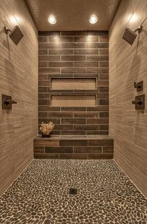 Street of Dreams 2013 - transitional - bathroom - omaha - by Falcone Homes - via Houzz app