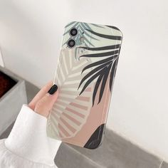 Cute Phone Cases For iPhone 12 Pro Max 11 Pro Max 12 Mini XS Max X XR 7 8 Plus Vintage Leaves Matte Soft Bumper Back Cover | Touchy Style Cute Iphone 5 Cases, Cute Cases, Iphone Phone Cases, Cheap Iphones, Iphone 8 Plus, Mini, Retro, Vintage, Style
