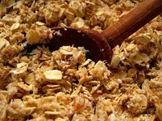 Almond Almond Granola - another way to use your leftover almond pulp