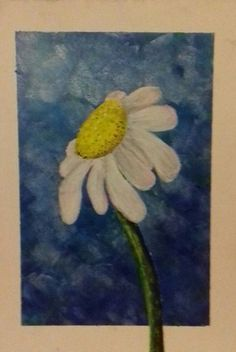Art Daisy Acrylics Flower