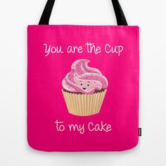 My cupcake - Pink version Tote Bag