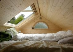 This skylight over the bed for sure. Other ideas on page