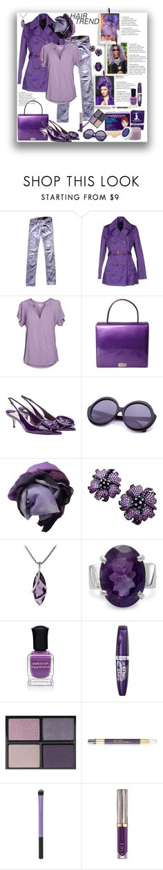 """Hair Trend"" by marionmeyer ❤ liked on Polyvore featuring beauty, Jean-Paul Gaultier, Shaveworks, Zadig & Voltaire, FAY, Velvet by Graham & Spencer, ESCADA, Miu Miu, 813 Ottotredici and David Yurman"