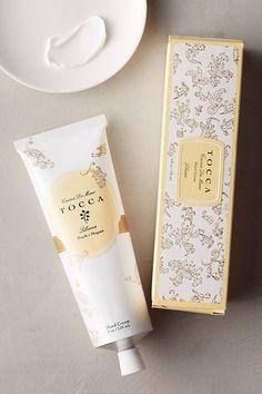 Tocca Hand Cream by in Yellow Size: All, Bath & Body at Anthropologie Yves Rocher, Sugar Scrub Diy, Diy Scrub, Skin Care Regimen, Skin Care Tips, Skin Tips, Organic Skin Care, Natural Skin Care, Natural Beauty