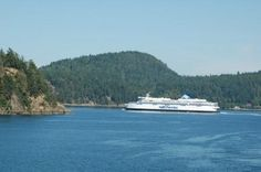 Victoria Island, Canada. Took a ferry just like this to Victoria in 2011. Incredible.