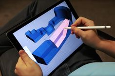 The iPad Pro Attracts a 3D Modeling System: Shapr3D #3DPrinting