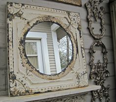 crafts with antique tin ceiling tiles google search - Antique Tin Ceiling Tiles