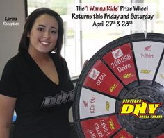 Take a free spin on the prize wheel this weekend. Buy this Prize Wheel at http://PrizeWheel.com/products/tabletop-prize-wheels/.