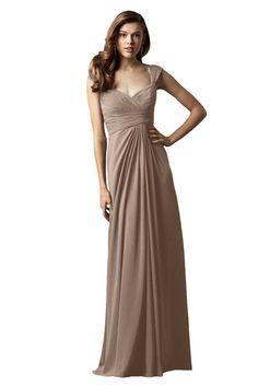 Watters Mahogany Bridesmaid Dress | Weddington Way