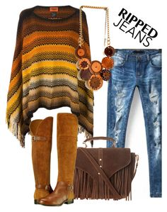 """""""My necklace"""" by sarakeyhandmade on Polyvore featuring Missoni, Topshop and Naturalizer"""
