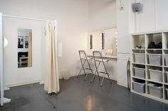 My Product & Fashion Studio : Make Up and Changing Room by Rick Schofield, via Flickr