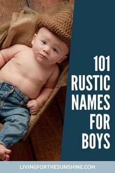 Rustic baby names are a huge trend this year. These rustic country names for boys are great choices! Includes Southern baby names strong baby names unique baby names vintage names and more! names hispanic names ideas names trend names unique names vowel Rustic Boy Names, Country Baby Names, Southern Baby Names, Rustic Baby, Country Boys, Strong Baby Names, Unique Baby Names, Names Girl, Kid Names