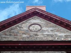 Old Barracks in Trenton, NJ. Built in 1758 for the French and Indian War. Later used during the Revolutionary War. Discover more history at www.thehistorygirl.com