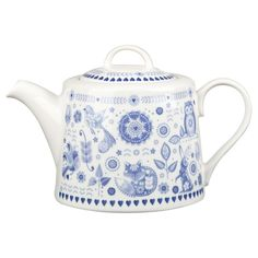 Queens Penzance Fine China Teapot