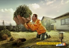 #3 The campaign for Voltaren came from a really simple insight: Because we do things we're not built for. Great!