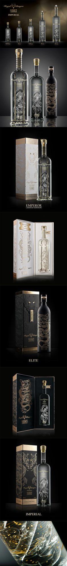 Royal Dragon Vodka Superior Vodka from Russia