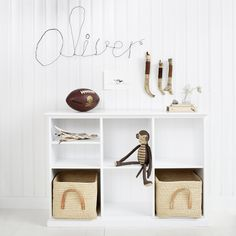 Make storage stylish. These children's bookcases and wall shelves will suit any child's room or playroom. Featuring Nidi design, Oeuf NYC, Sebra, Oliver Furniture and BE of Spain Nursery Shelves, Kids Bookcase, Scandinavian Furniture, Scandinavian Design, Kids Storage, Storage Ideas, Bed Furniture, Oliver Furniture, Kid Spaces