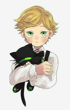 Adrien Agreste ''Chat Noir''