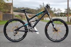 Yeti SB66 Carbon...comes with a price tag of....an arm and a leg !