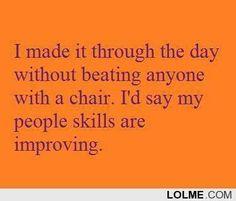 Accomplishment.