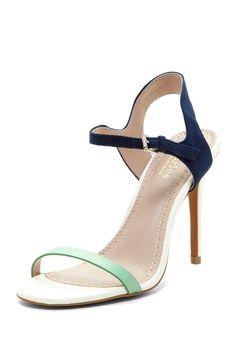 Reverse Colorblock Sandal