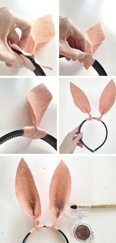 DIY Bunny Ears Tutorial