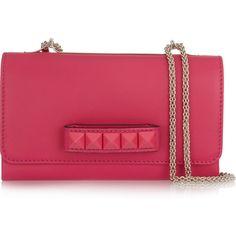 Valentino Va Va Voom leather shoulder bag ($1,870) via Polyvore