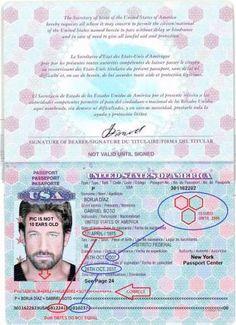 Ausweise und Reisepässe Passport Card, Map, Telescope, Certificate, Cards, Passport, Viajes, Location Map, Maps