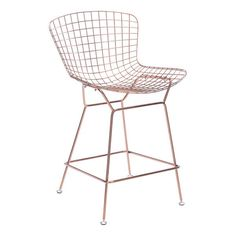 Shop Zuo Modern Wire Bar Stool (Set of at Lowe's Canada. Find our selection of bar stools at the lowest price guaranteed with price match. Rose Gold Bar Stools, 36 Bar Stools, Wire Bar Stools, Modern Counter Stools, Bar Chairs, Counter Chair, Bar Tables, Dining Chairs, Room Chairs