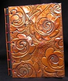 Copper Repousse Journalclothpaperscissors.com