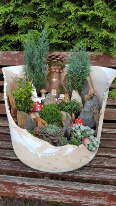 Cute and Magical Mini Garden Ideas