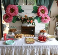 DIY Floral Baby Show