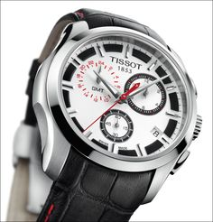 The Wristwatch Guide: Basel 2011 Tissot Couturier GMT Michael Owen Limited Edition