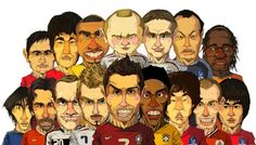 #soccer #caricature #graphicdesign