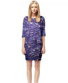 Purple Paper - Printed T-shirt Dress