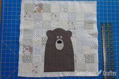 Patchwork Bear Pillow Tutorial – Sometimes Crafter