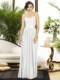 plain, classy, elegant.. bridesmaid dress