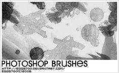 Ink Splatter - Download  Photoshop brush http://www.123freebrushes.com/ink-splatter-24/ , Published in #GrungeSplatter. More Free Grunge & Splatter Brushes, http://www.123freebrushes.com/free-brushes/grunge-splatter/   #123freebrushes