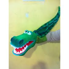 Resultado de imagen para titeres cocodrilo