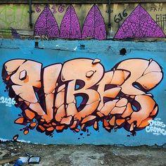 V I B E S #vibes #graffitiart #graffiti #artisnotcrime #hamburg