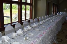 Glen Oaks, Slate Roof, English Style, Wedding Ideas, Table Decorations, Places, Furniture, Design, Home Decor