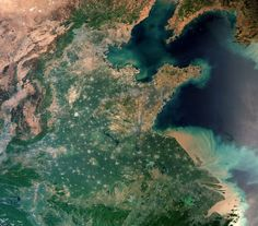 L'image du jour : La Terre depuis l'espace, Shanghai (vidéo) Shanghai, Chris Hadfield, Remote Sensing, Alien Planet, Climate Change Effects, Here On Earth, Earth From Space, Next Holiday, Outer Space