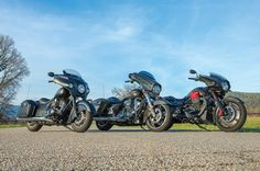 2017 Bagger Comparison Review: Harley-Davidson Street Glide Special vs. Indian Chieftain Dark Horse vs. Moto Guzzi MGX-21