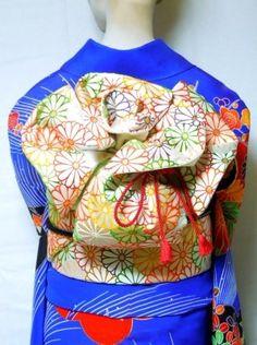 rose how too Japanese Costume, Japanese Kimono, Japanese Style, Kabuki Costume, Recycled Dress, Yukata Kimono, Obi Belt, Japanese Outfits, Asian Style