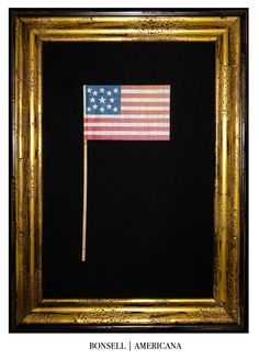 13 Star Parade Flag, Antique Flag, Bonsell Americana