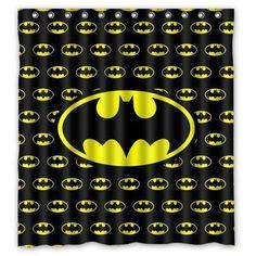 "Batman1 Waterproof Fabric Bath Shower Curtain 60/""x72/"""