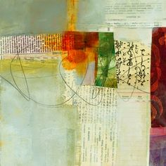 Janes Davies - Collage Journeys: Early December Studio Notes. Here are a few more in the series of cruciform studies I'm doing. One artist whose work I am using for inspiration (and there are many!) is Charlotte Foust.