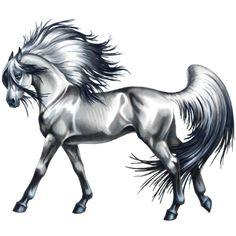 Зимерзла, Pferd Friese Rappe #15243261 - Howrse